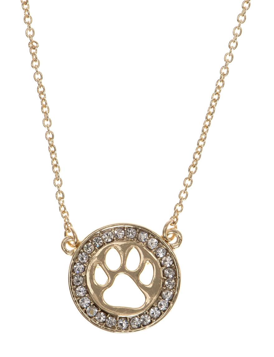 Pet Friends Gold Necklaces & Pendants Fashion Jewelry