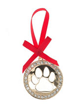 Pet Friends Paw Cut-out Ornament