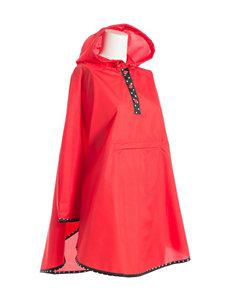 Isotoner Red Ponchos