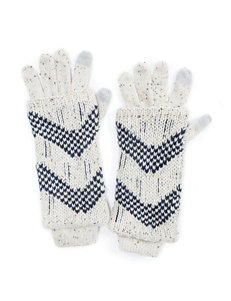 Muk Luks Natural Gloves & Mittens