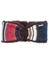 MUK LUKS Block Stripe Print Headband