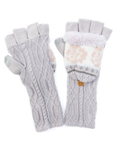 Muk Luks Purple Gloves & Mittens