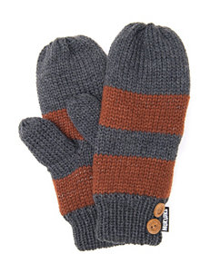 Muk Luks Pewter Gloves & Mittens