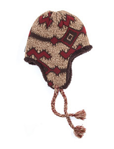 Muk Luks Brown Hats & Headwear