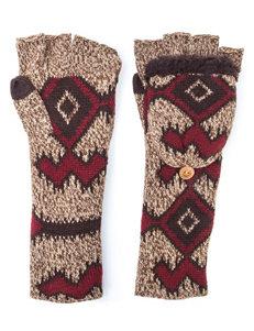 MUK LUKS Tribal Long Flip Mittens