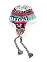 MUK LUKS Fair Isle Trapper Hat