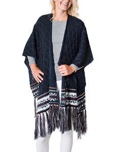 Muk Luks Navy Scarves & Wraps