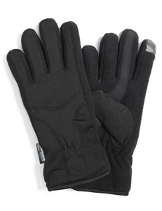 Muk Luks Black Gloves & Mittens