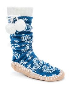 Muk Luks Ivory Socks