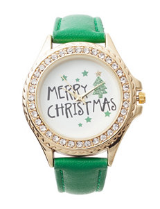 Global Time Green Fashion Watches
