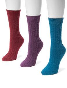 Muk Luks Multi Socks