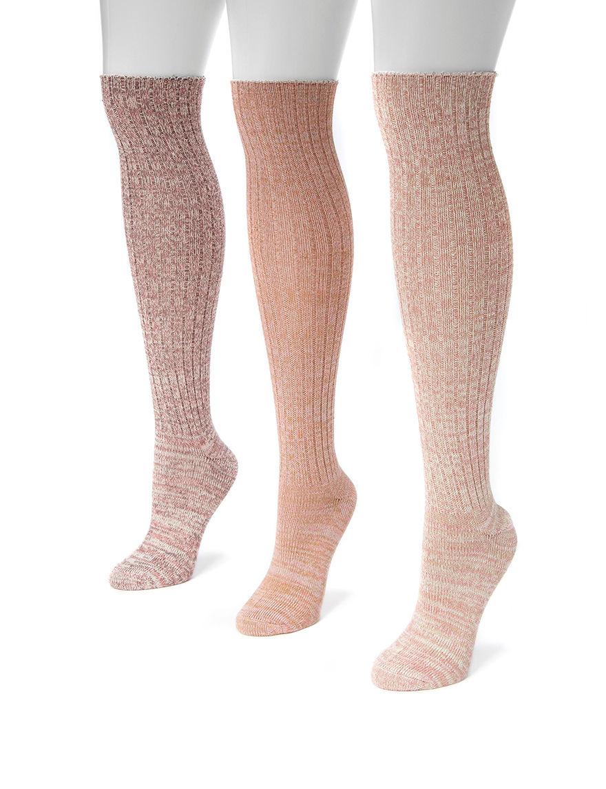 Muk Luks Black Socks