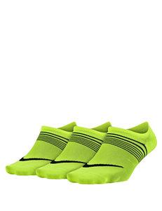 Nike Yellow Socks