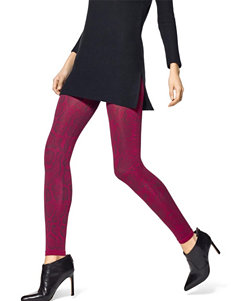 Hue Red Tights & Hosiery
