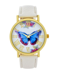 Licensed White Fashion Watches
