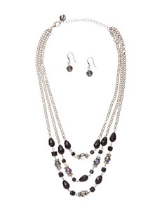 Hannah 2-pc. Iridescent Beaded Necklace & Earring Set