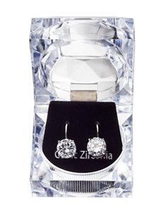 Robert Enterprises Silver Drops Earrings Fashion Jewelry