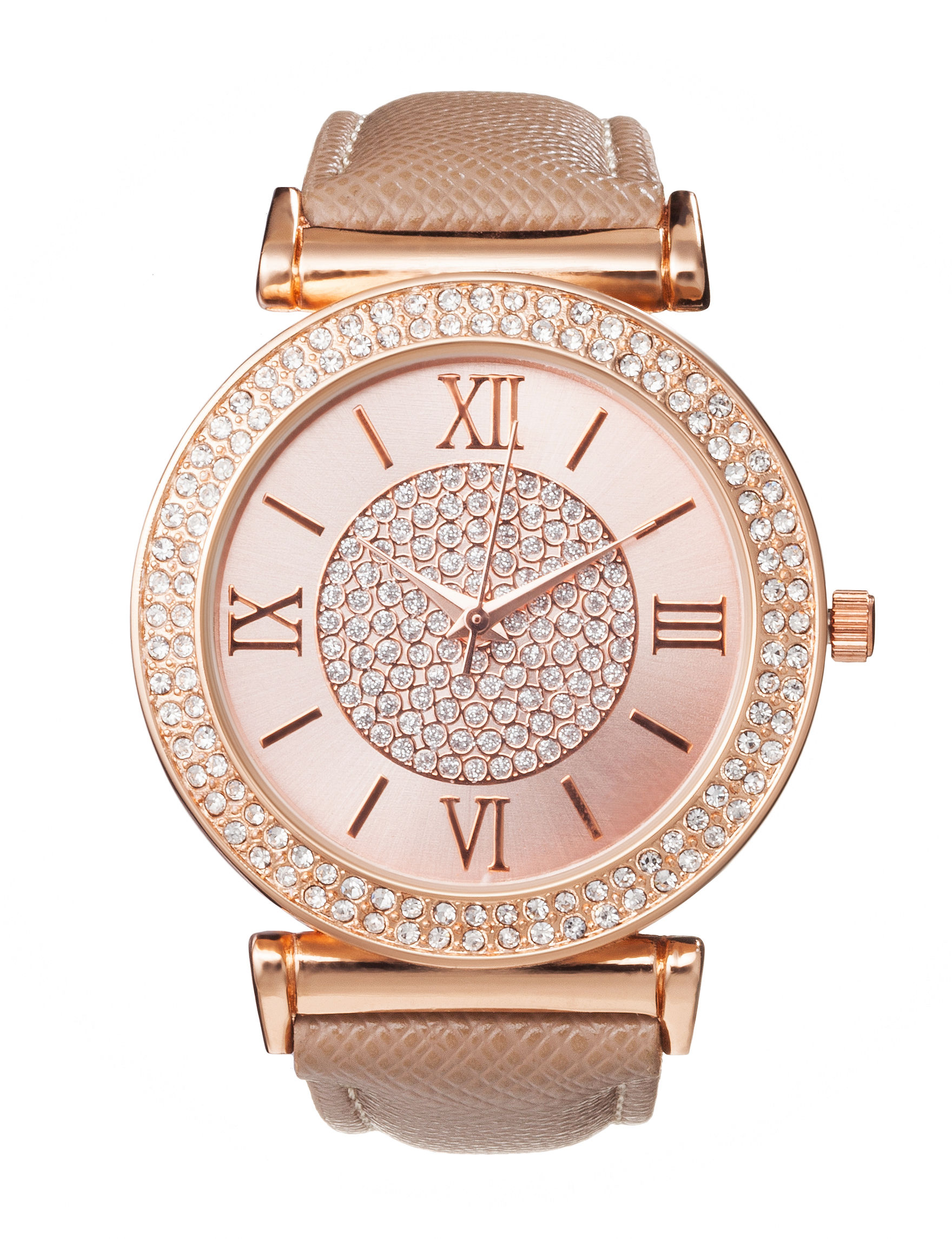 Global Time Beige Fashion Watches