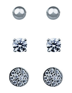 Sunstone Silver Studs Earrings Fine Jewelry