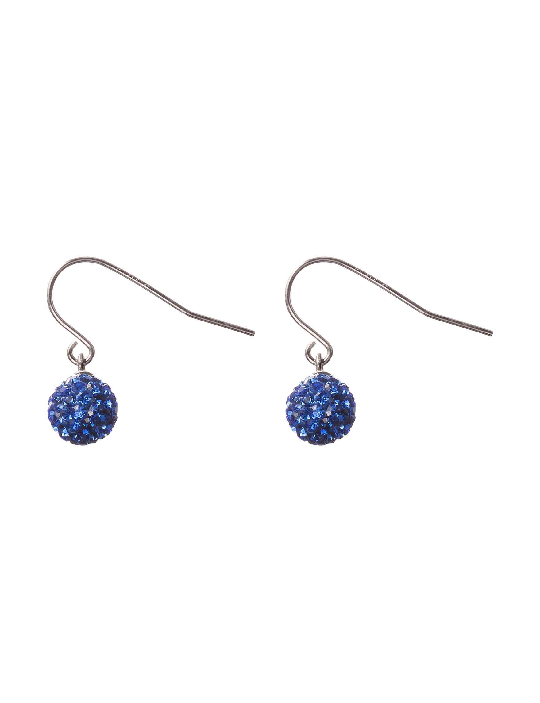 Athra Silver Drops Earrings Fine Jewelry