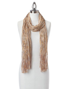 Collection 18 Lurex Weave Scarf Wrap