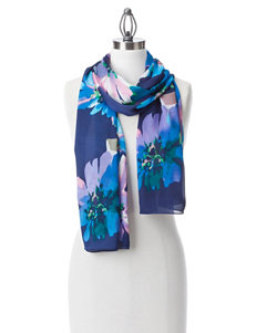 Collection 18 Blue Scarves & Wraps
