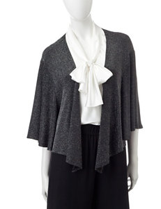 Accessory Street Black / Silver Scarves & Wraps