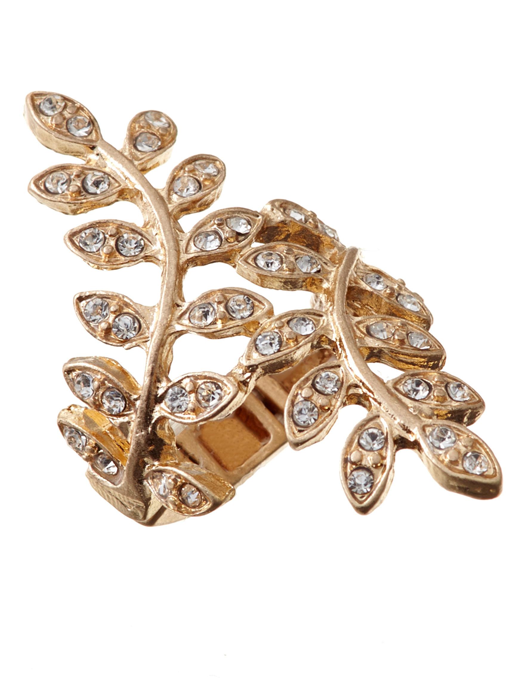 Signature Studio White Rings Fashion Jewelry