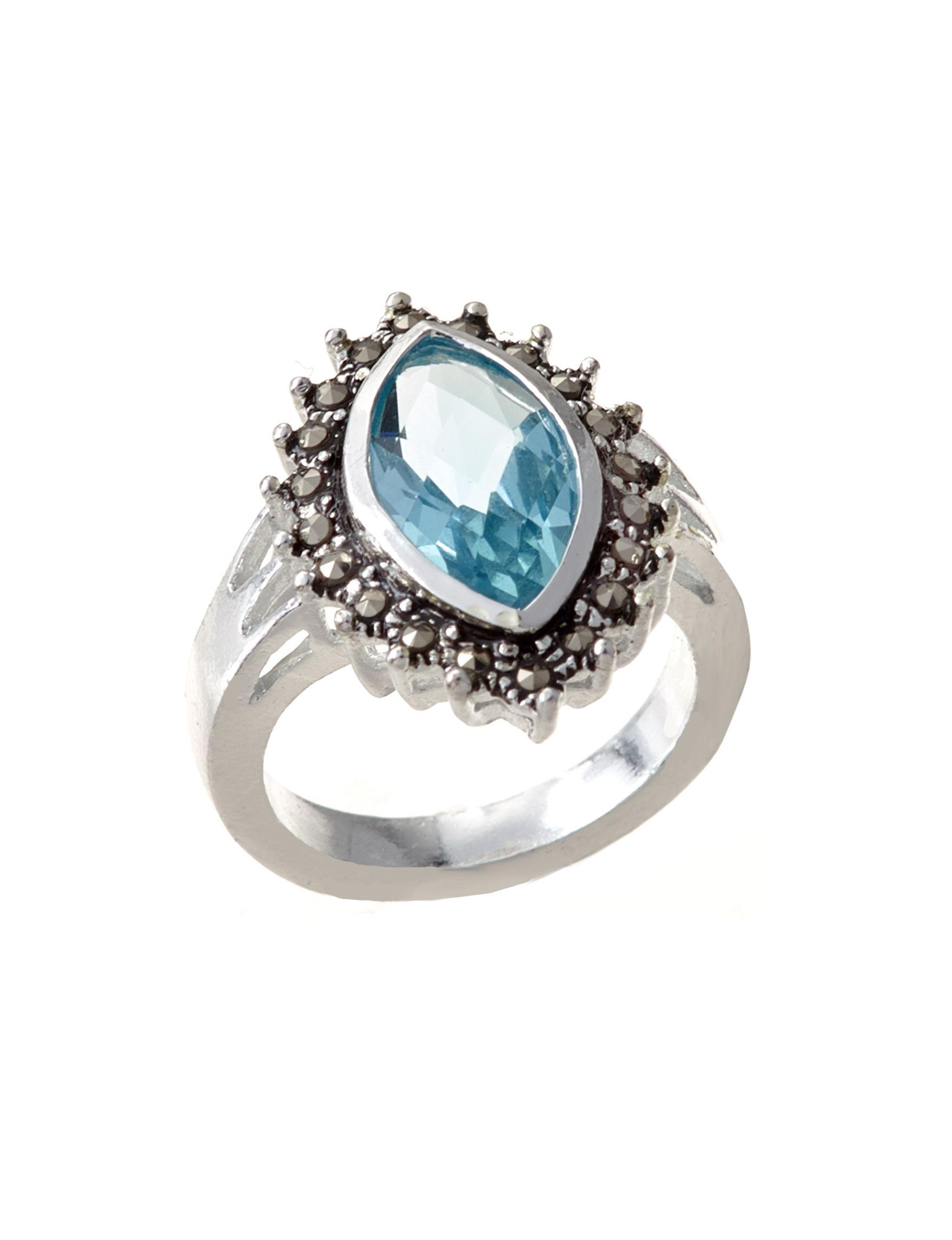 Marsala Aqua Rings Fine Jewelry