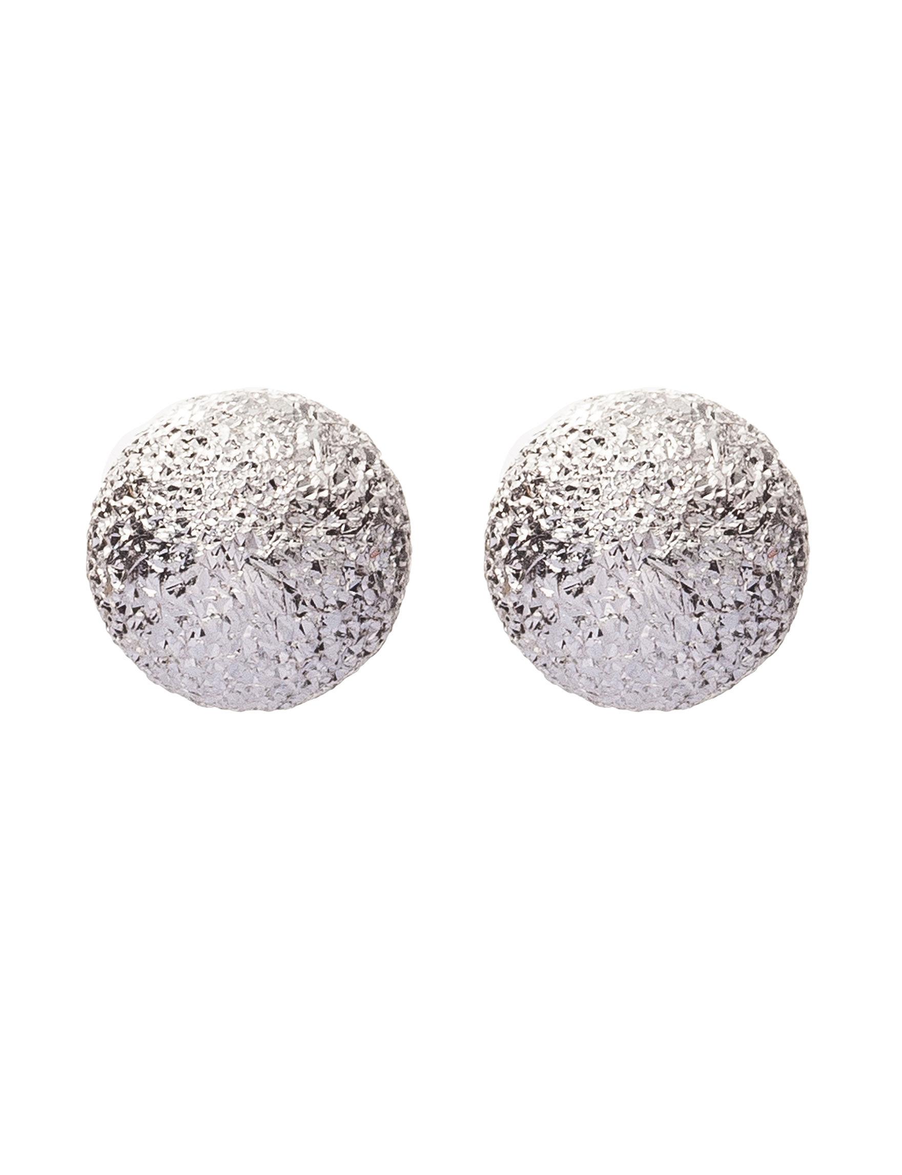 JTS Silver Studs Earrings Fine Jewelry
