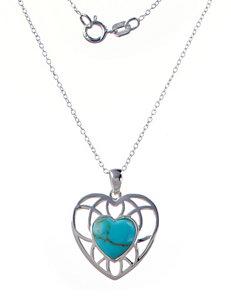 Marsala Turquoise Necklaces & Pendants Fine Jewelry