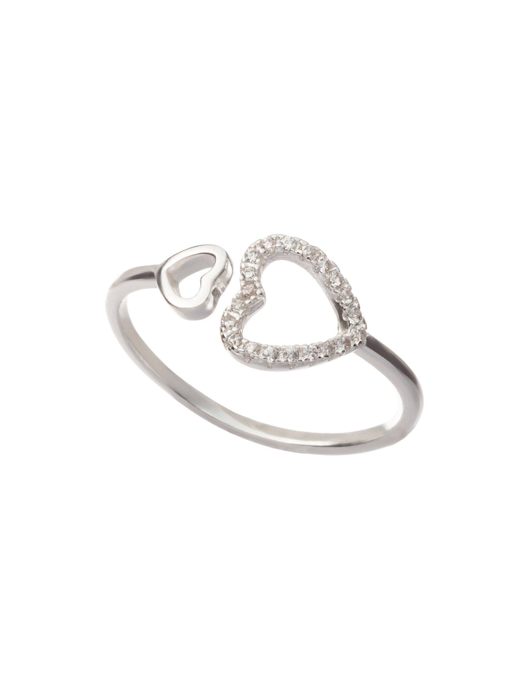Marsala White / Silver Rings Fine Jewelry