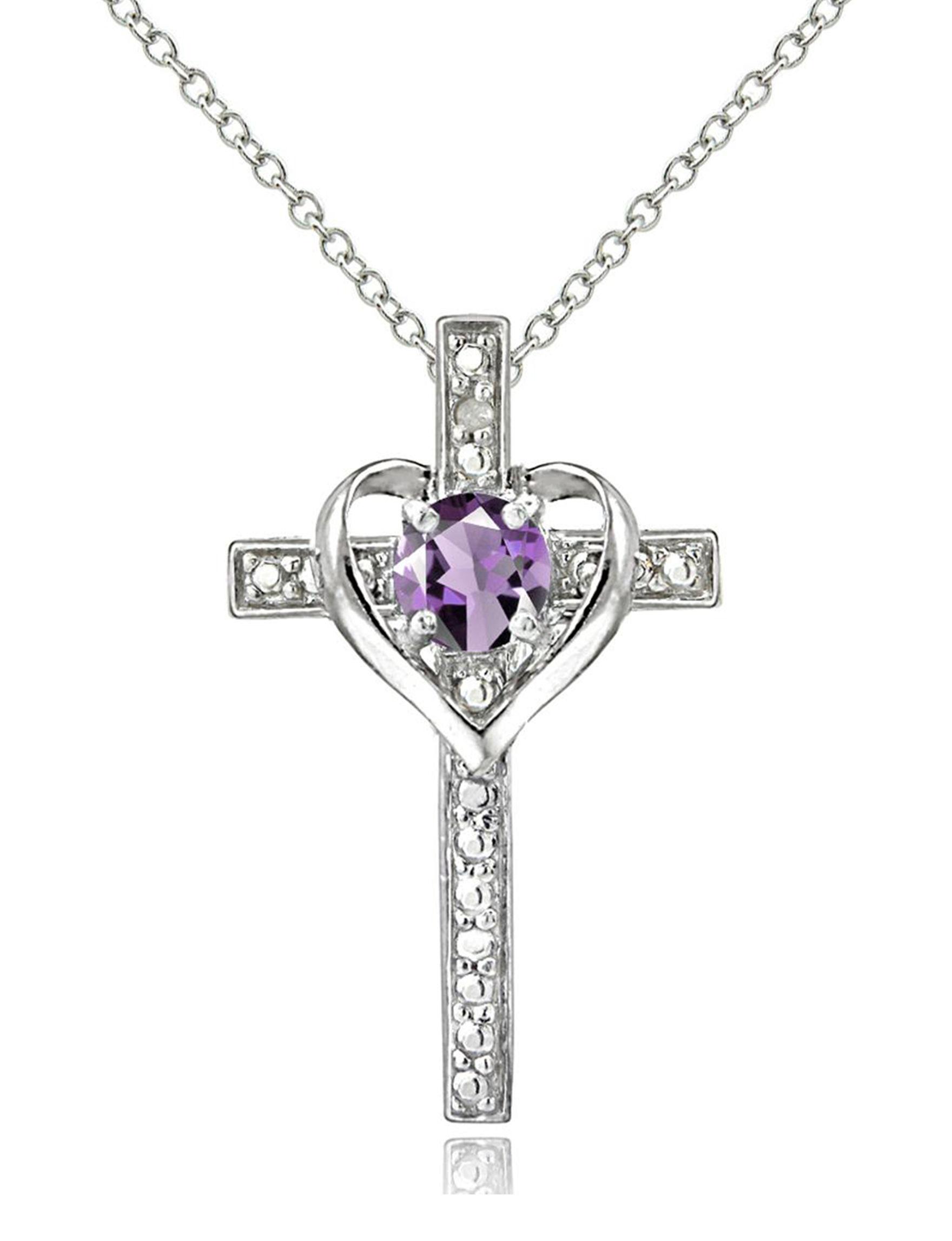 FMC Purple Necklaces & Pendants Fine Jewelry