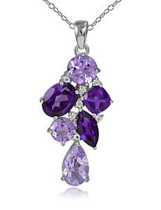 FMC Amethyst Necklaces & Pendants Fine Jewelry