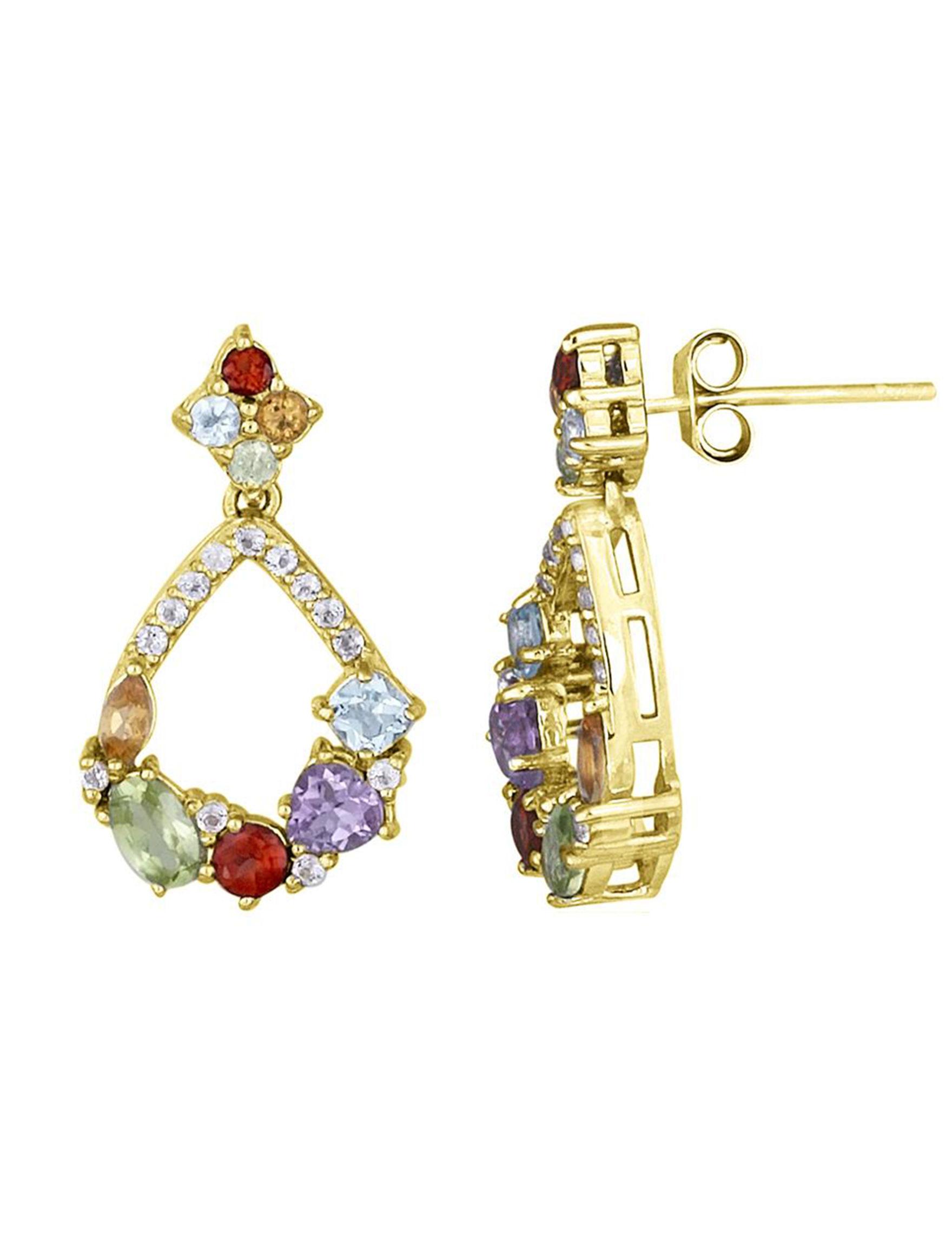 FMC Blue Earrings Fine Jewelry