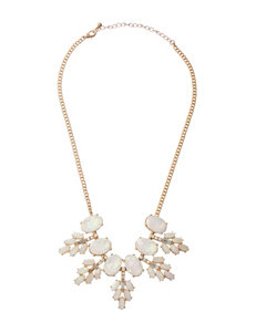 Hannah Stone Cluster Cab Necklace