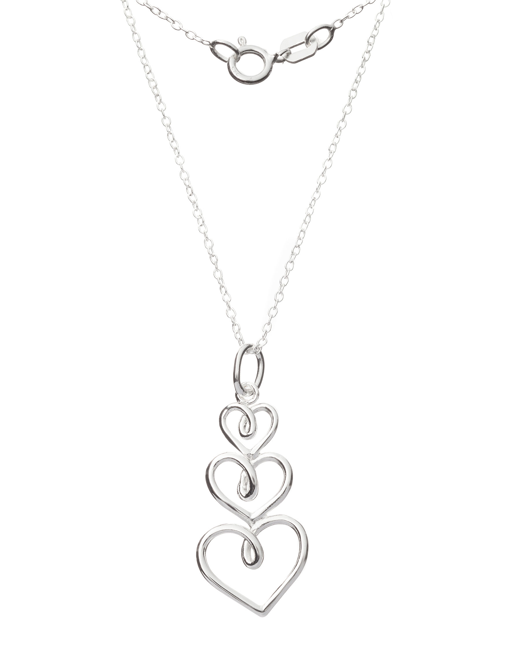 Marsala Silver Necklaces & Pendants Fine Jewelry