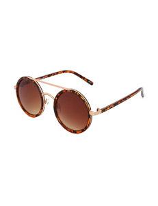 Madden Girl Round Frame Sunglasses