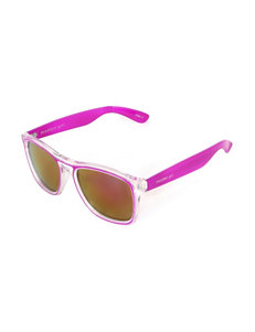 Madden Girl Pink & Clear Sunglasses