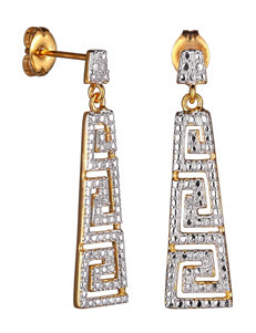PAJ INC. White Earrings Fine Jewelry