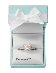 City by City Cubic Zirconia Pave Heart Ring