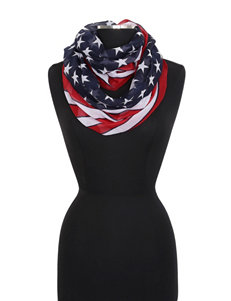 Cejon Navy / Red Scarves & Wraps