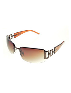 Riviera Rectangular Rimless Sunglasses
