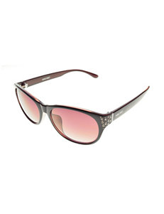 Nine West Mod Rhinestone Cateye Sunglasses