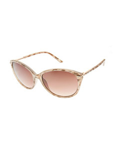 Nine West Mod Stone Cateye Sunglasses