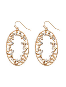 Signature Studio Crystal Cluster Drop Earrings