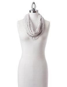 Collection 18 White Scarves & Wraps