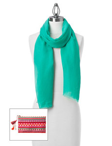 Collection 18 Teal Scarves & Wraps