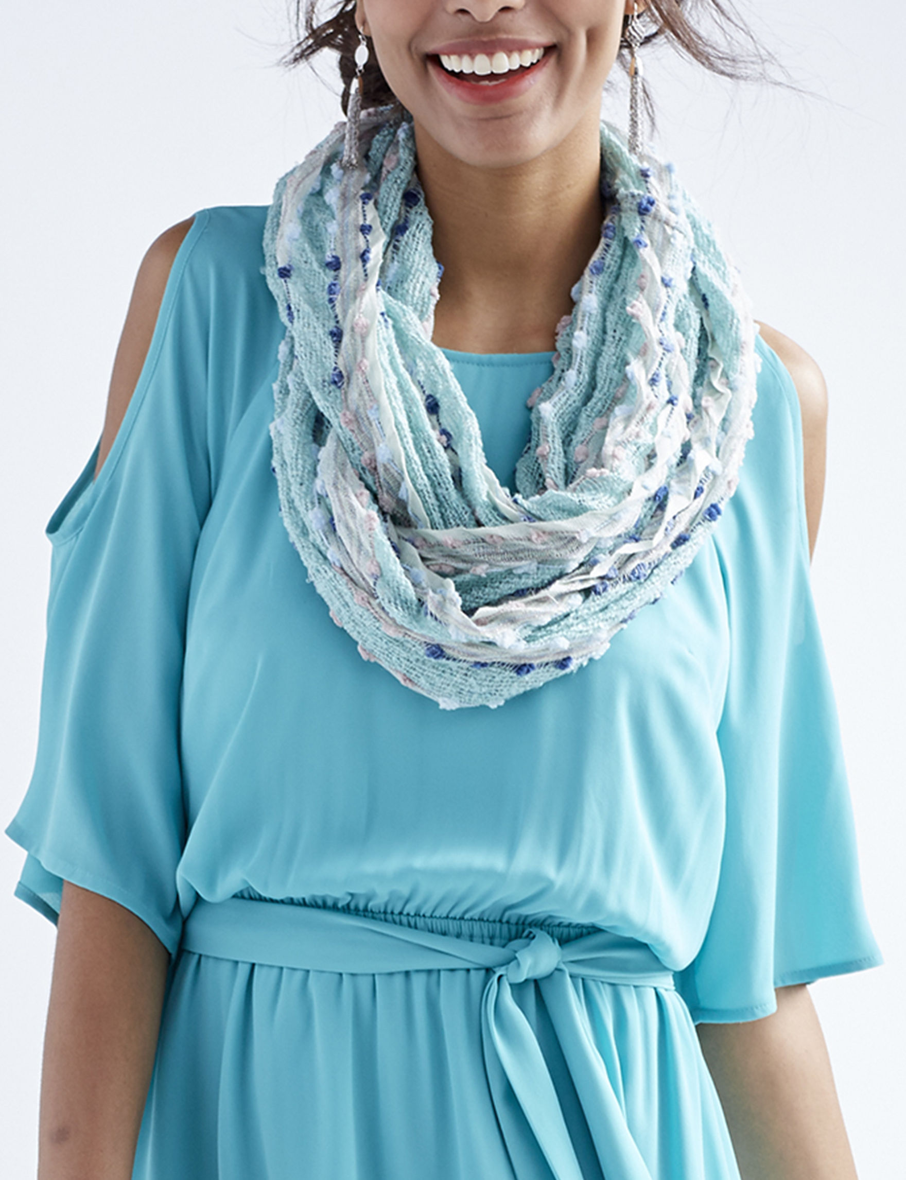 Collection 18 Green Scarves & Wraps