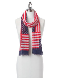 Collection 18 Red / White / Blue Scarves & Wraps